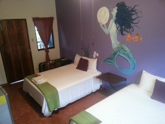 Hotel Villa Amarilla: Our awesome room!