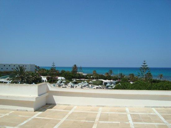 El Mansour Hotel : vue d'une terrasse