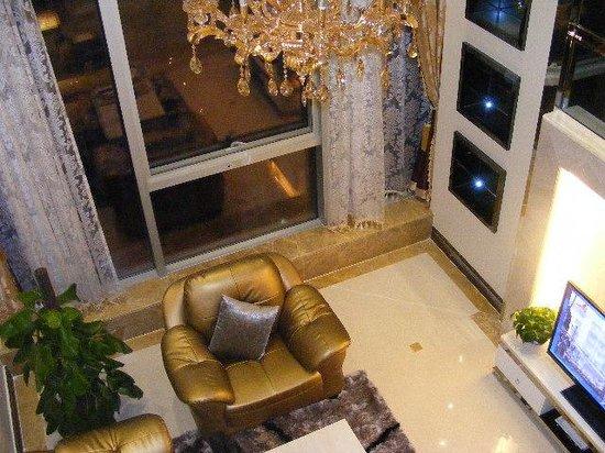 Pengman Apartment Guangzhou Jinrun Bogong: 2109 living room