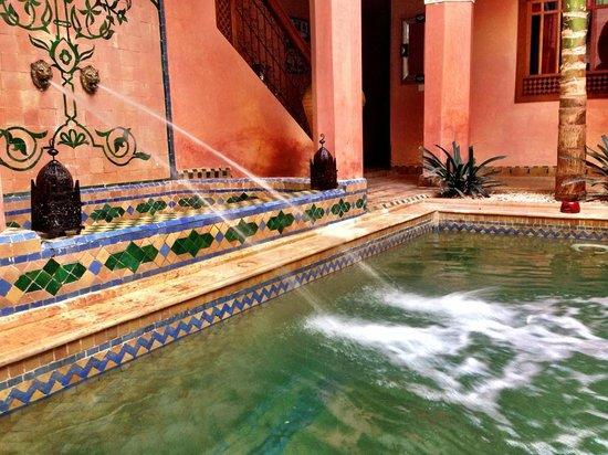 Riad Jnane Agdal: Swimming pool in lobby