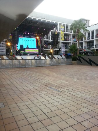 Ibiza Rocks Hotel: STAGE AREA