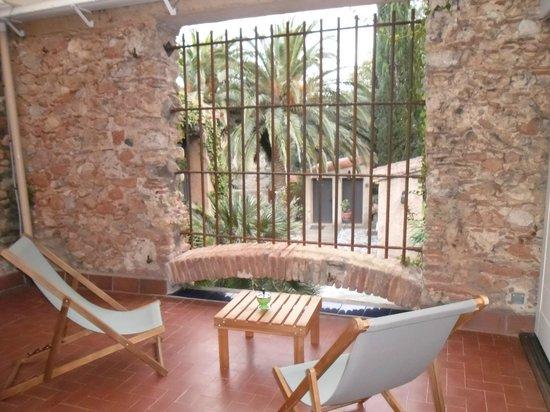 Casa9 Hotel: Terrasse privée