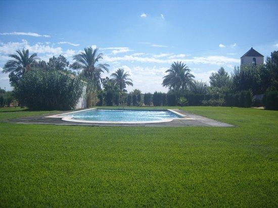 Hacienda los Jinetes: la piscine