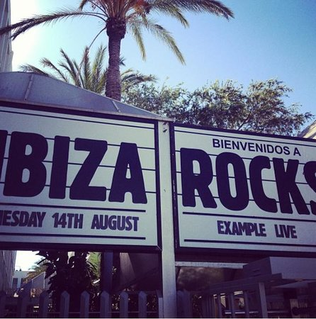 Ibiza Rocks Hotel : ENTRANCE