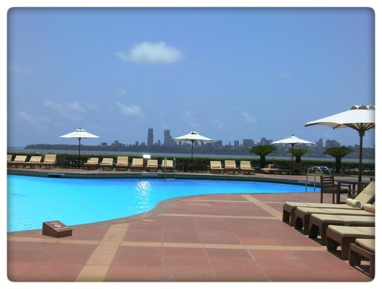 Trident, Nariman Point: View from the swimming pool