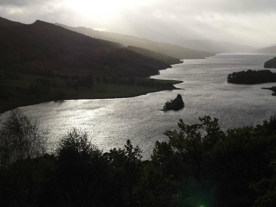 Loch Tummel Hotel: QUEENS VIEW
