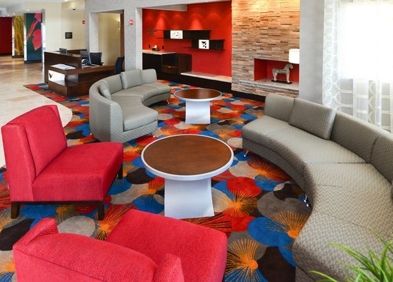 Fairfield Inn & Suites Houston North/Spring: lobby