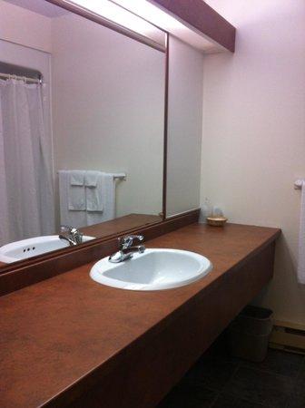 Hotel Baie Saint Paul : Salle de bain