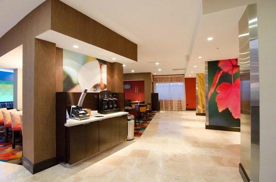 Fairfield Inn & Suites Houston North/Spring: Lobby Area