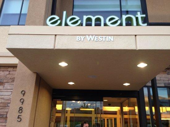 Element Denver Park Meadows : Front Entry