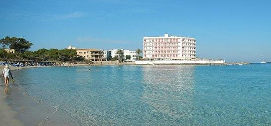 Universal Hotel Marques : Vista dalla spiaggia adiacente