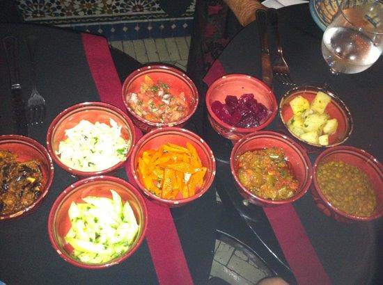 Le Marrakchi: Morrocan Salad