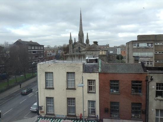 Maldron Hotel Parnell Square: view from our room