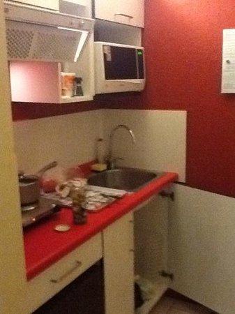 Dei Templi Apart Hotel: cocina
