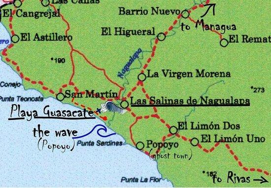POPOYO BEACH HOSTEL - Prices & Reviews (Nicaragua) - TripAdvisor on two brothers surf nicaragua, bella vista guasacate nicaragua, playa popoyo nicaragua, map of rancho santana, playas near gigante nicaragua, maps of only nicaragua, rancho santana nicaragua,