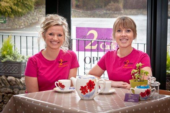 2 Sisters Cafe at Plumgarths: 2 sisters Monika&Magda