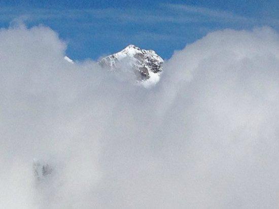 Tschentenalp: ... und wenn der Nebel höher steigt....