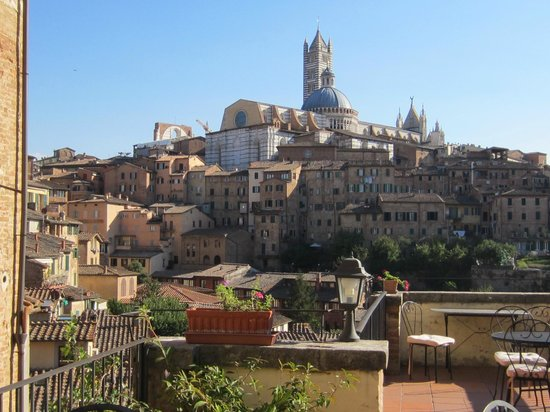Albergo Bernini : View from our window