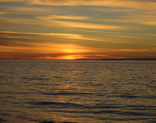 The Greenbank Grille: A Whidbey Island Sunset