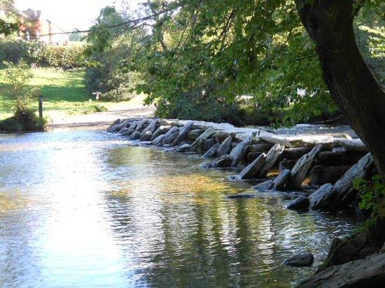 Hillside House: Tarr steps medieval bridge