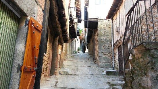 Parador de Ciudad Rodrigo : Small town Miranda del Castana