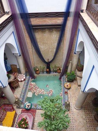 Riad Tamarrakecht: Courtyard