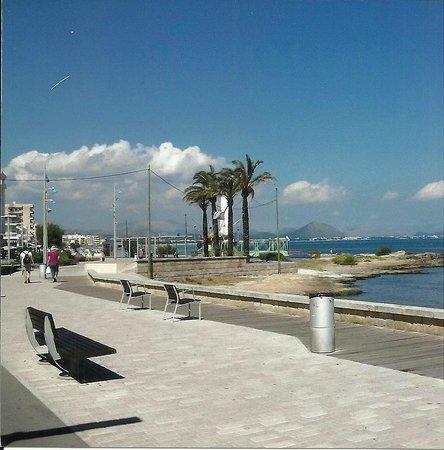 Hotel JS Miramar: Promenade von Can Picafort