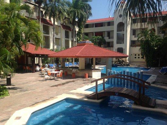 Adhara Hacienda Cancun : Trabajando y disfrutando :D