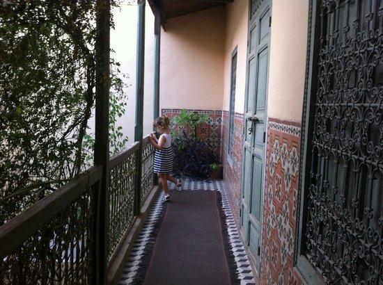 Riad Zahr: Balcone stupendo