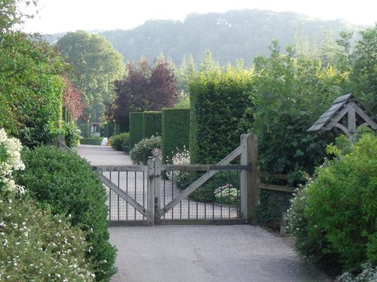 Rosemoor House Apartments: We had the gardens to ourselves