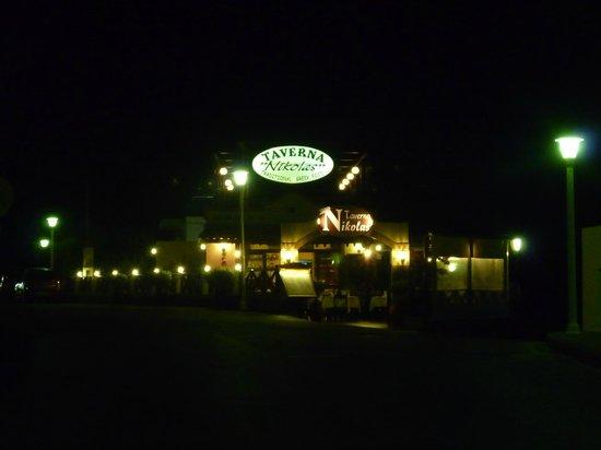 Taverna Nikolas Restaurant: Entrance to Nikolas.