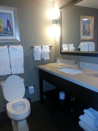 Comfort Suites Miami Airport North: bathtub