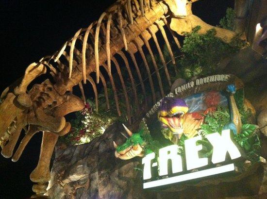 T-Rex: entrada