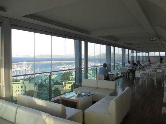 Hotel Catalunya: Bar Panoramique