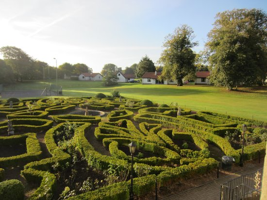 Kilconquhar Castle Estate and Country Club: The view from our bedroom window