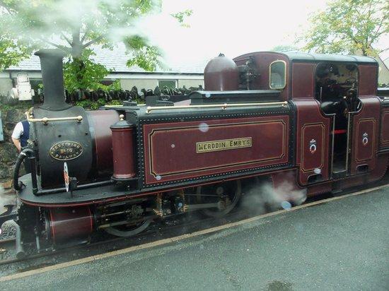 Snowdon Mountain Railway : train