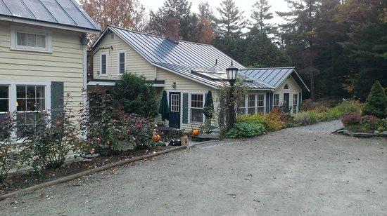 Tucker Hill Inn : Entrance to inn