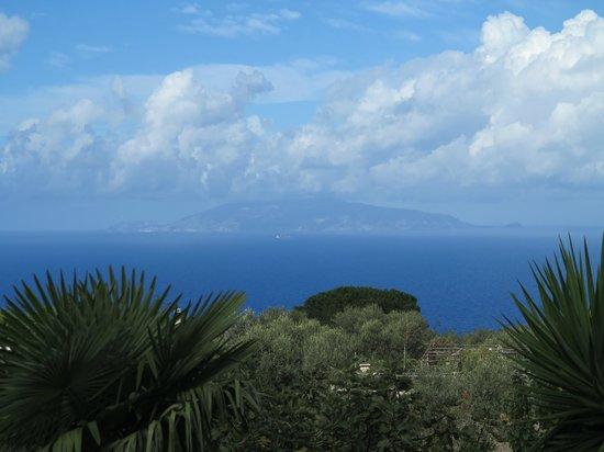 Villa Damecuta: Noch ein Blick vom Balkon