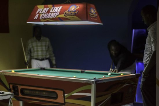 Kampala, Uganda: 2 pool tables