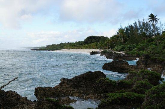 White Sands Beach Resort: Private beach