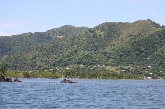 G&G's Clearwater Paradise: Guanaja is lush and green with only 5 small villages settled on it's shores