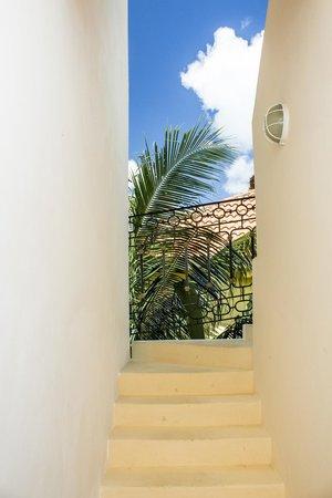 Hotel Sol Playa : Stairway to Roof Top Terrace