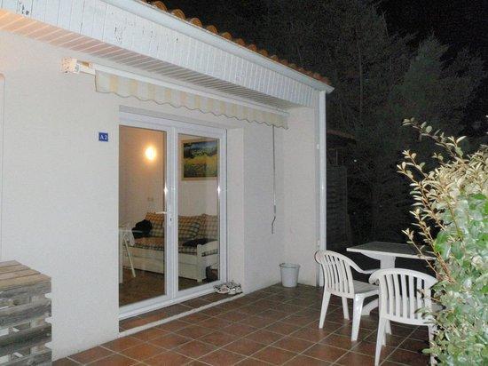 Nemea Residence Les Sables Vignier Saint Georges d'Oleron: terrasse