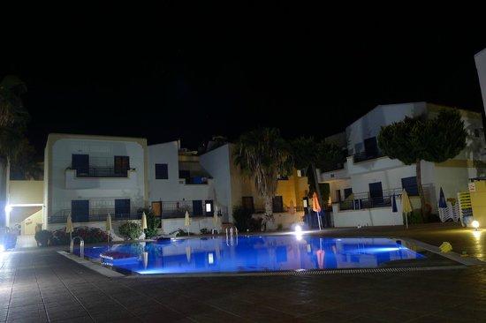 Blue Aegean Hotel & Suites : night view