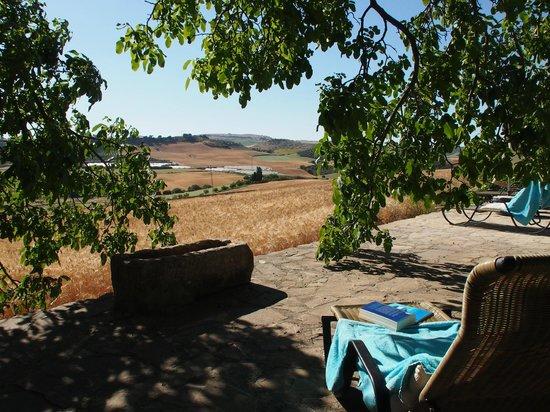 Finca Naranja : Uitzicht vanaf het terras