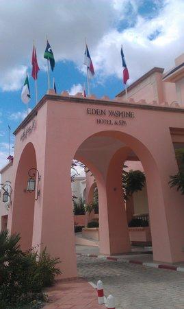 Eden Yasmine Hotel & SPA: Entrée de l'hôtel -  photo 2
