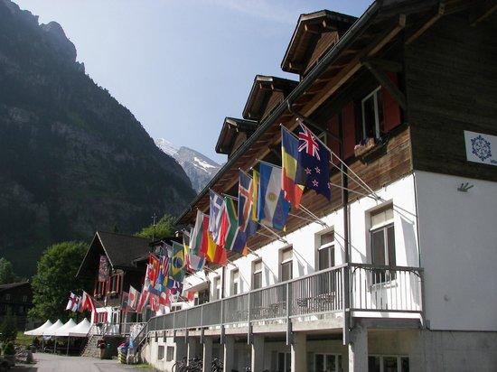 Kandersteg International Scout Centre: The Old Chalet building at KISC