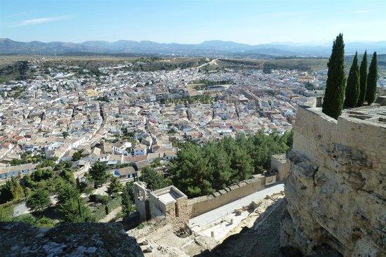 Fortaleza de la Mota: Uitzicht Alcala la Reaal