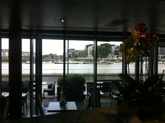 Banyan on the Thames: vue sur la terrasse