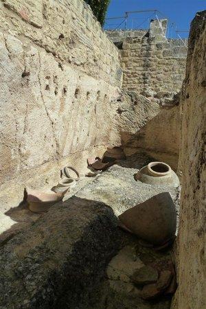 Fortaleza de la Mota: Opgraving bij de burcht